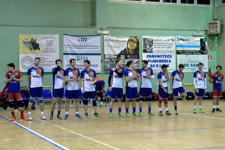 Serie B: Sant'Anna Tomcar - Volley 2001 Garlasco