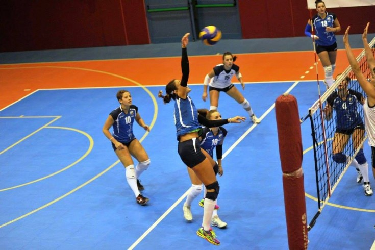 B1 femminile: Collegno Volley CUS Torino vs Vigneti Roncati Red