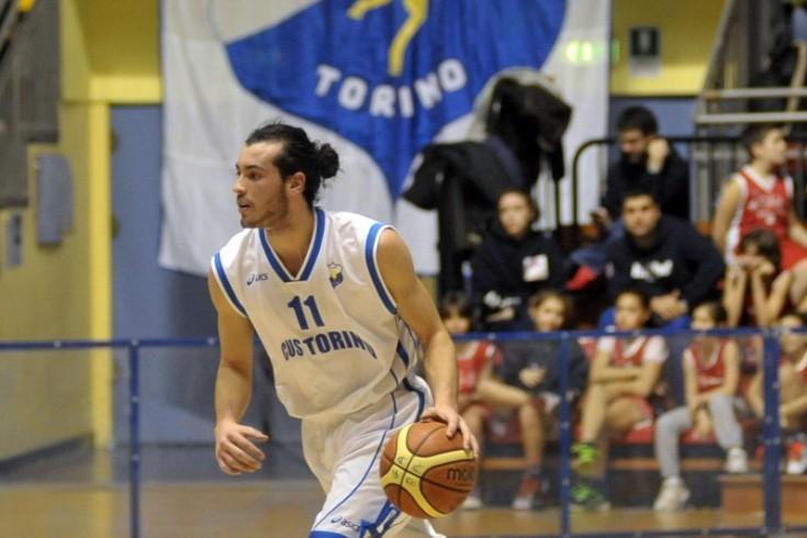 DNB maschile: CUS Torino Basket vs Basket Cecina