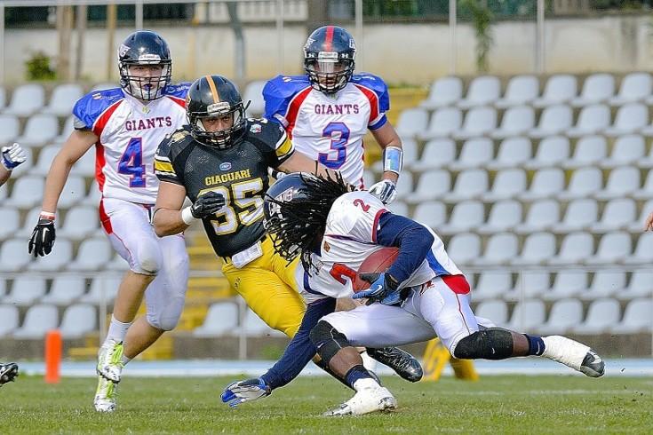 IFL: Giaguari Torino - Giants Bolzano