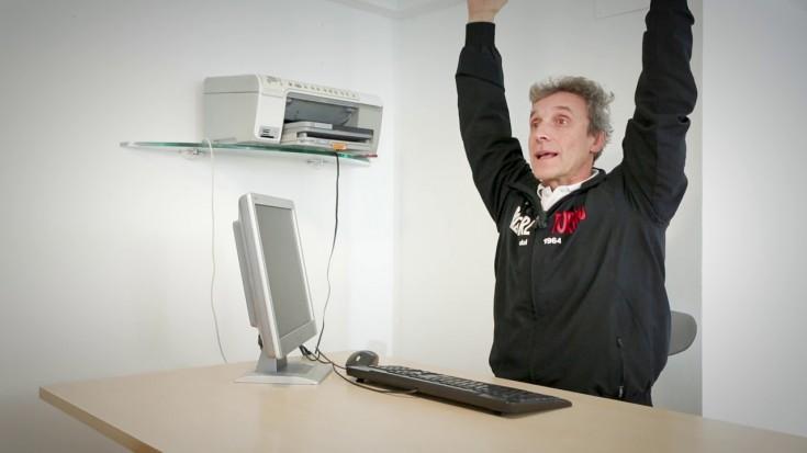 Stretching da ufficio con Luciano Gemello