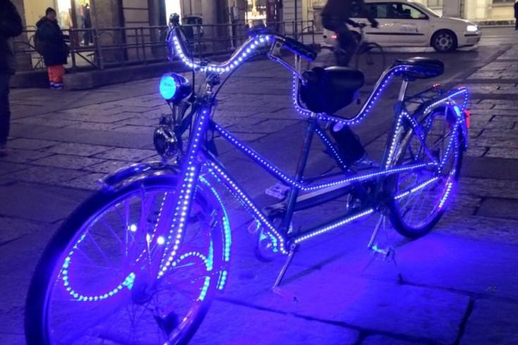M'illumino di più (in bici)