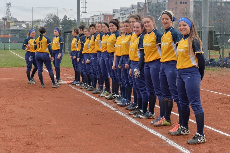 Serie A2 softball: Softball La Loggia - Red Panthers Settimo