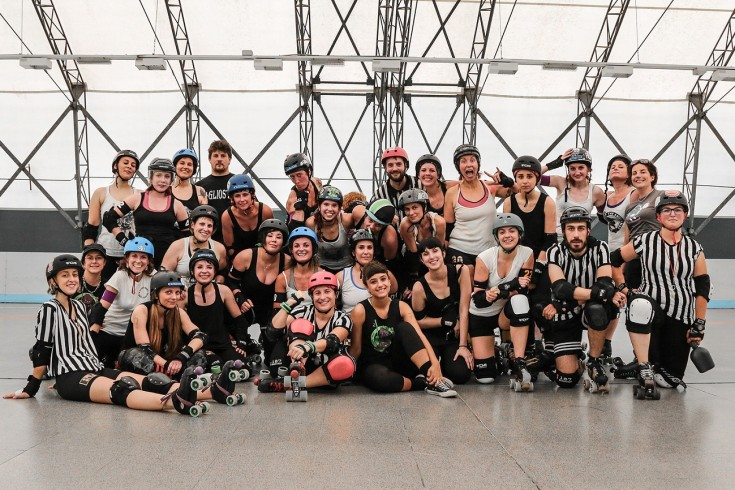 Block in Turin – Roller derby Tournament 2018