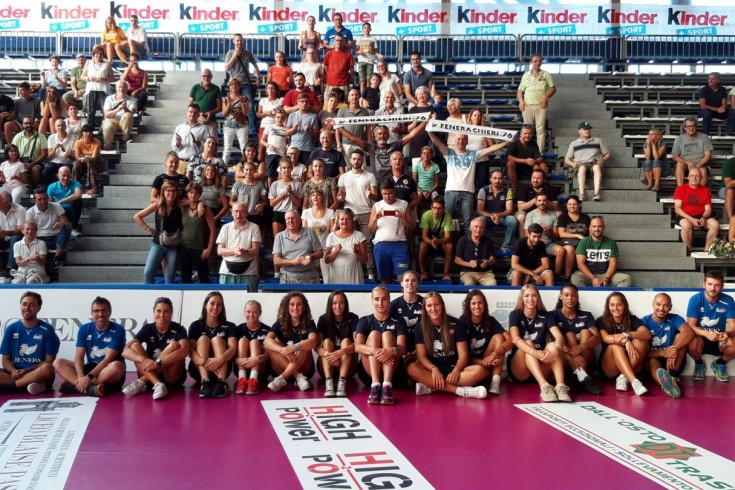 Serie A1: Reale Mutua Fenera Chieri '76 - Saugella Team Monza