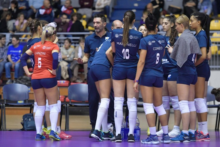 Serie A2: Barricalla CUS Torino Volley - Volley Soverato