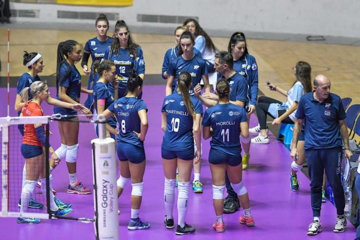Serie A2: Barricalla CUS Torino Volley - Zambelli Orvieto