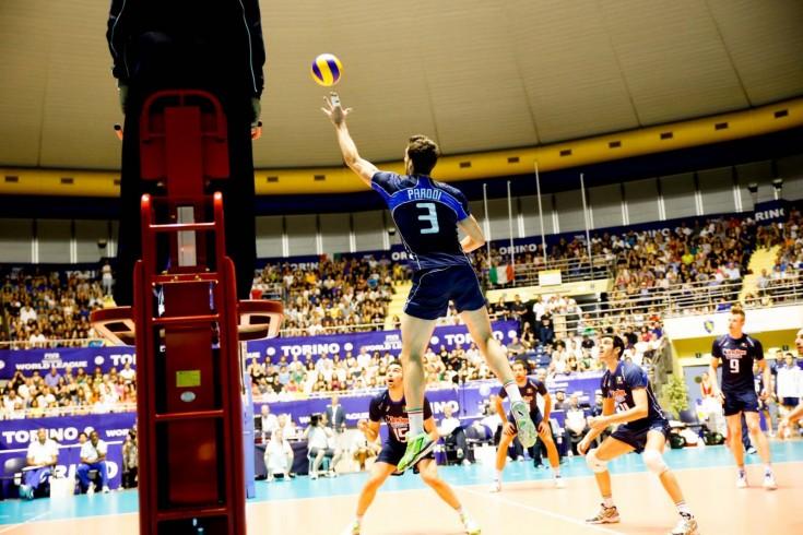 Campionati Europei di Pallavolo: Italia vs Estonia