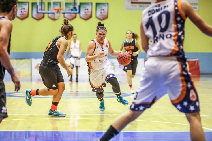Serie A1 femminile: Fixi Piramis Torino - Pallacanestro Umbertide
