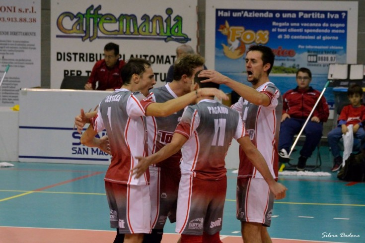 Serie B1 maschile: Sant'Anna Tomcar - Valsugana Volley Padova