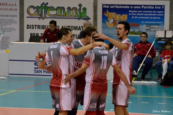 Serie B1 maschile: Sant'Anna Tomcar - Caloni Agnelli Bergamo
