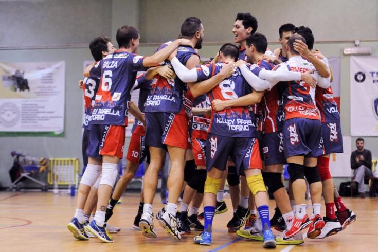 Serie B1 maschile: Volley Parella Torino - Diavoli Rosa Brugherio