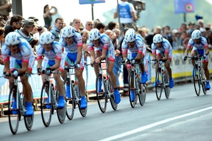 Arrivo ultima tappa del Giro d'Italia