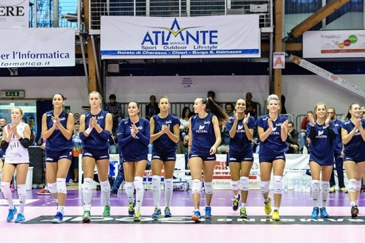Serie A2: Fenera Chieri '76 - Volley Soverato