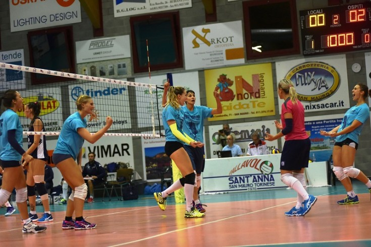 Serie A2: Barricalla CUS Collegno Volley - LPM Bam Mondovì