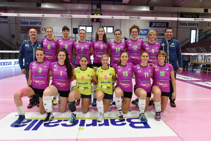 Serie A2: Barricalla Collegno CUS Torino - Club Italia CRAI