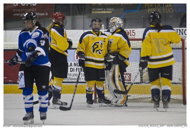 Serie A femminile: HC Torino Bulls - Alleghe Hockey Girls