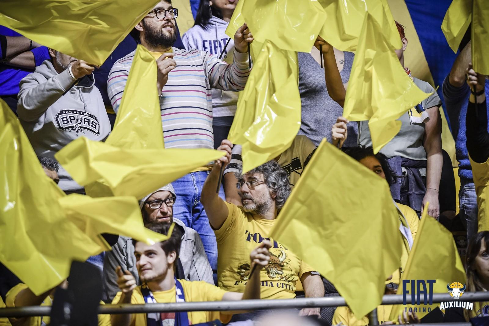 Serie A: Fiat Torino - Vanoli Cremona