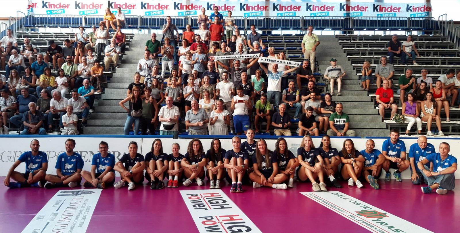 Serie A1: Reale Mutua Fenera Chieri '76 - Club Italia Crai