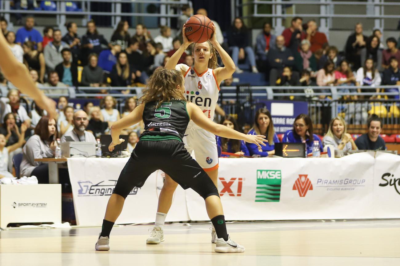 Serie A1: Iren Fixi Pallacanestro Torino - Use Basket Rosa Empoli
