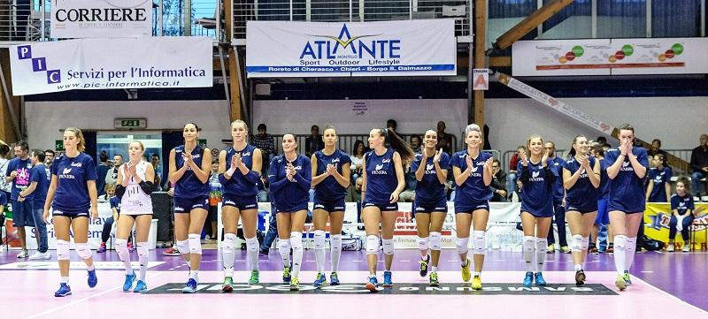 Serie A2: Fenera Chieri '76 - Volley Soverato