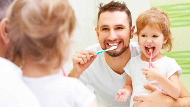 corretta igiene orale quotidiana