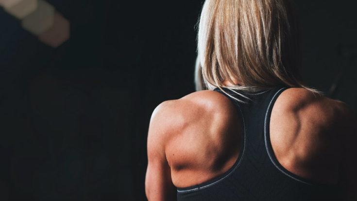 esercizi per le spalle corpo libero